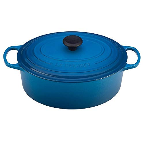 Le Creuset Enameled Cast Iron Signature Oval Dutch Oven, 6.75 qt., Marseille