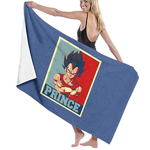U/K Prince Vegeta - Toalla de baño Super Dragon Ball de secado rápido