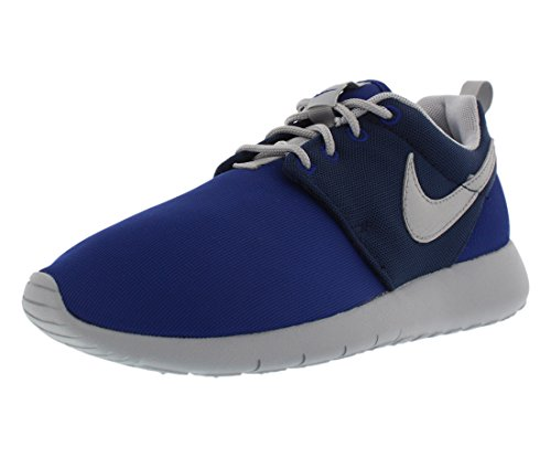 Nike Roshe One (Gs) Scarpe da Ginnastica, Unisex - Bambino, Multicolore (Dp Royal Blue/Wlf Gry-Mid Nvy), 38