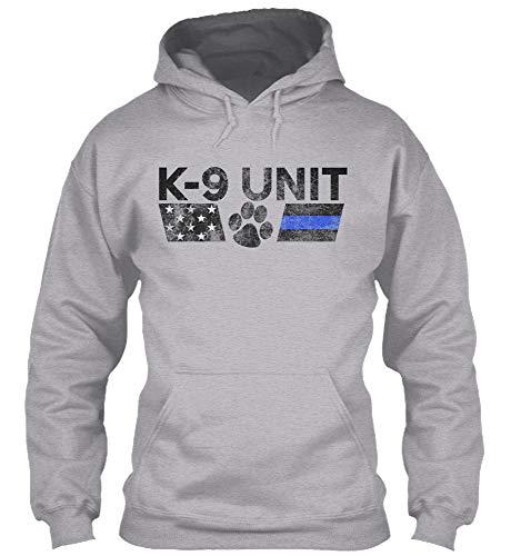 K9 Unit S - Sport Grey Sweatshirt - Gildan 8oz Heavy Blend Hoodie