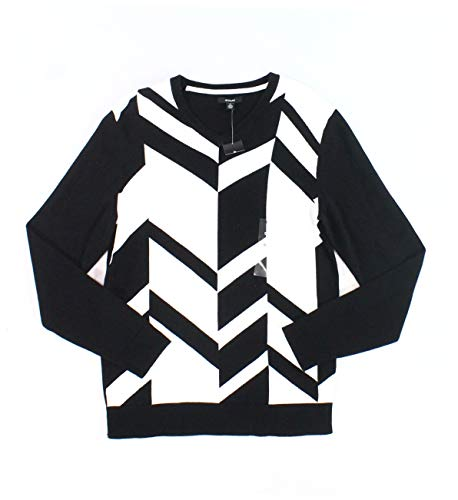 Black and White Sweater Mens