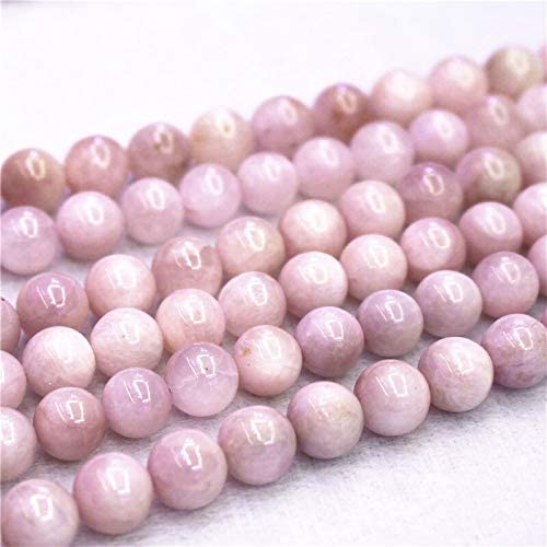 Natural Kunzite Loose Beads 6-12mm for M Popularity Very popular Round DIY