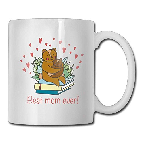 La migliore mamma di sempre! Tazza di caffè 11 Oz Donne Divertenti regali in ceramica Tazza di tè Tazza di caffè 11oZ il regalo perfetto per la famiglia e gli amici