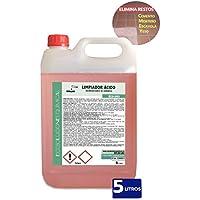 Ecosoluciones Químicas ECO-803 | 5 Litros | Desincrustante ácido | Limpiador de lechada, cementos, fachadas, mortero, yeso, escayola, etc.