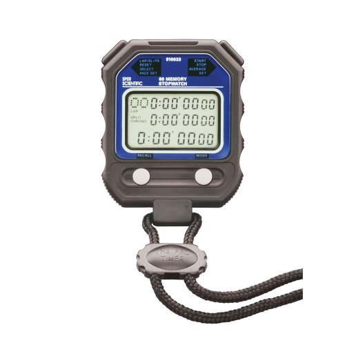 Sper Scientific 810033 60 Memory Digital Stopwatch, Water Resistant