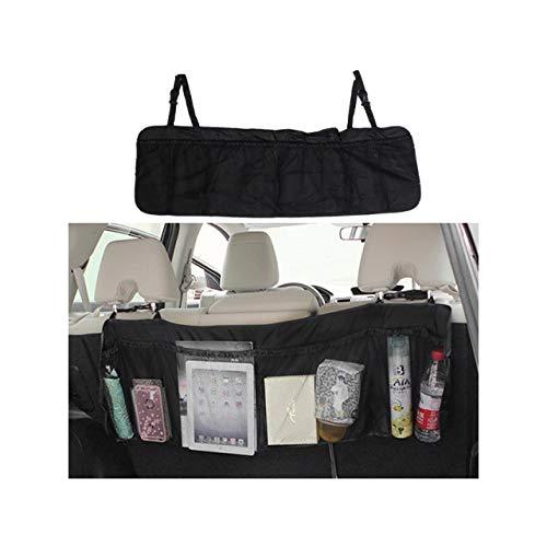 Organizador de maletero de coche plegable para almacenamiento de coche, bolsa de maletero para coche, color negro (104 x 30 cm)