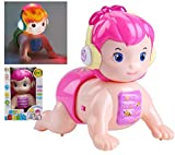 HALO NATION® Baby Electric Crawling Doll Toy 1-3 Years Old Concert Called dad