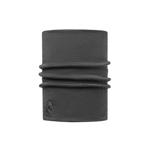 Buff Erwachsene Multifunktionstuch Thermal Merino Neckwarmer Schlauchschal, Solid Grey, one size
