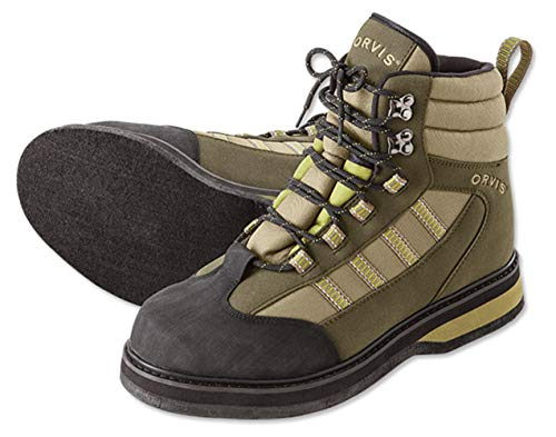 Orvis Encounter Wading Boots - Felt/Only Encounter Wading Boots, 12 Tan/Olive