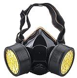 Dricar Anti-Dust Mask, Spray Paint Industrial Chemical Gas Respirator Mask Reusable
