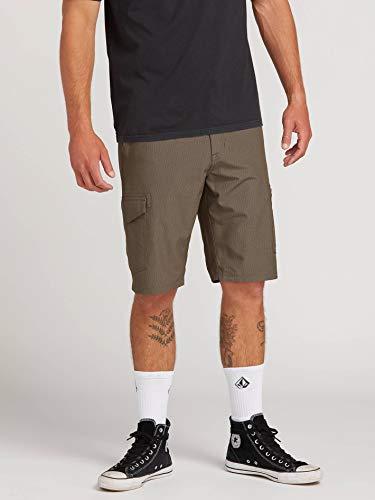 Volcom - Surf N' Turf Dry Cargo 21 - Pantalones Cortos Hombre - Gris