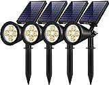 InnoGear Solar Lights Outdoor, Upgraded Waterproof Solar Powered Landscape...