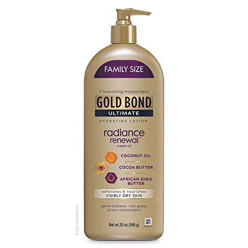 Gold Bond Radiance Renewal Hydrating Lotion, for Visibly Dry Skin, Family Size, 20 oz