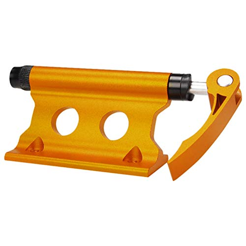 Faderr Bike Car Rack Front Fork - Aluminum Alloy Quick Release Fork Mount Truck Bed Bicycle Carrier, Bike Fork Mount Block Truck Mount for Truck, Trailer, Bikes(Yellow)(Yellow)