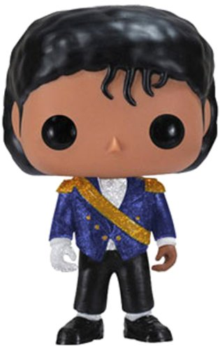 POP! ROCK LEGENDS MICHAEL JACKSON IN MILITARY JACKET VINYL TOY FIGURE #26