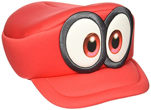 Nintendo Super Mario Odyssey Cappy Hat Cosplay Accessory Red