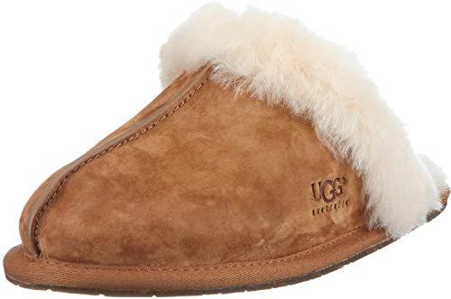 UGG W Scuffette II, Zapatillas de Estar por casa Mujer, Marrón (Chestnut), 39 EU