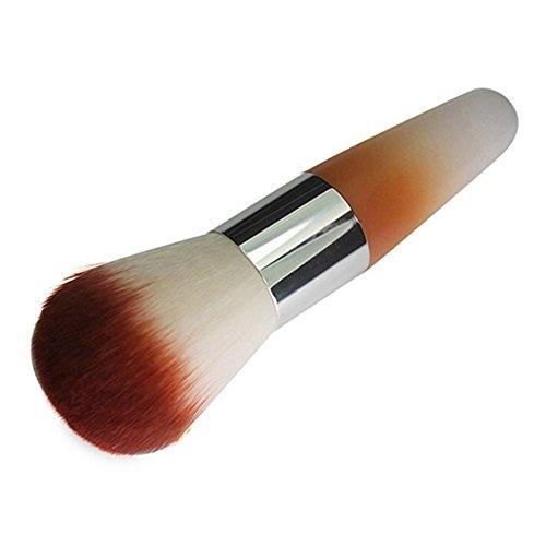 1 pinceau Pro Beauty pour fard à joues, fond de teint, visage, fard à joues, poudre cosmétique, couleur aléatoire