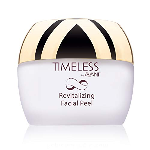 Timeless by AVANI Revitalizing Facial Peel   Enriched with Natural Plant Extracts and Vitamins E & C   Removes Dead Skin Cells, Excess Oil, Dirt, & All Other Impurities - 1.7 fl. oz.