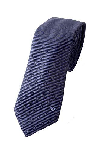 Emporio Armani Herren Krawatte 100{c91968b0cf819e3ff89070586b4daa7736c539cf984a7cc5719d53ebb2803527} Seide (Night Blue)