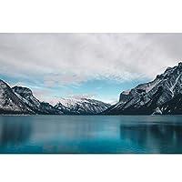 木製パズルおもちゃパズル 大人のための雪の山の湖のパズルの自然な風景大人のための500-6000ピースジグソーパズルはすべての作品はユニーク&ピースが完璧にフィットします (Color : Puzzle, Size : 6000PCS)