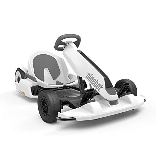 Segway Ninebot S (White) and GoKart Drift Kit Bundle