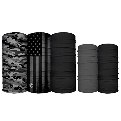S A - Family 5 Pack - 3 Face Shields & 2 Kids Shields (Father & Son)