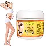 Masaje corporal Crema delgada, Jengibre Pérdida de peso Eliminación de grasa Crema anticelulítica...