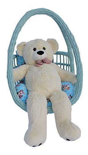 Lee#039s Brothers 120cm / 47 Inch Cream Plush Teddy Bear Soft Large Stuffed Animal 3 Sizes/Colors Option