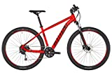 Ghost Kato 4.9 AL U 29R Mountain Bike 2019 (XL/54cm, Riot Red/Night Black)