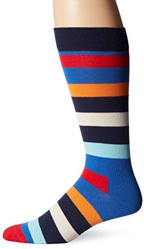 Happy Socks رجالية 1 Pack للجنسين Combed