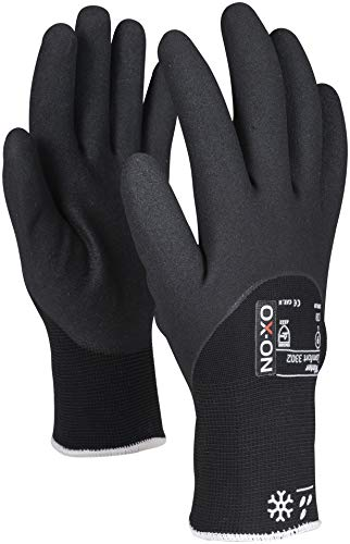 HandschuhMan. Ox-On Freeze Arbeitshandschuhe Winter Gr. 9-11 Thermo gefüttert (10/XL)