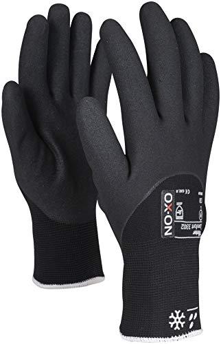 HandschuhMan. Ox-On Freeze Arbeitshandschuhe Winter Gr. 9-11 Thermo gefüttert (9/L)