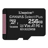 キングストン microSD 256GB 最大100MB/s UHS-I V30 A1 Nintendo Switch動作確認済 Canvas Select Plus SDCS2/256GB 永久保証