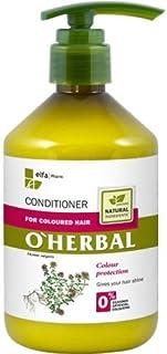 OHerbal Acondicionador Cabello/Pelo Teñido Natural Ecológico Hidratante Sin Sulfatos Ni Siliconas Con Extracto De Tomillo...