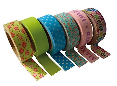 PW International - Tapes Lot 6 rubans adhesifs Printemps