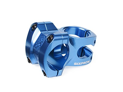 Sixpack-Racing Skywalker Vorbau, Blau, 31.8 mm