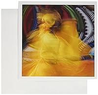 Danita Delimont–アダム・ジョーンズ–People–キューバのダンサーでモーション、Callejon de Hamel、キューバ–グリーティングカード Set of 12 Greeting Cards