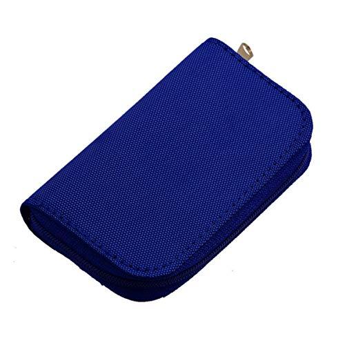Sunnyflowk 4 Colores SD SDHC MMC CF para Almacenamiento de Tarjeta de Memoria Micro SD Bolsa de Transporte Bolsa Caja Caso Soporte Protector Cartera Tienda al por Mayor