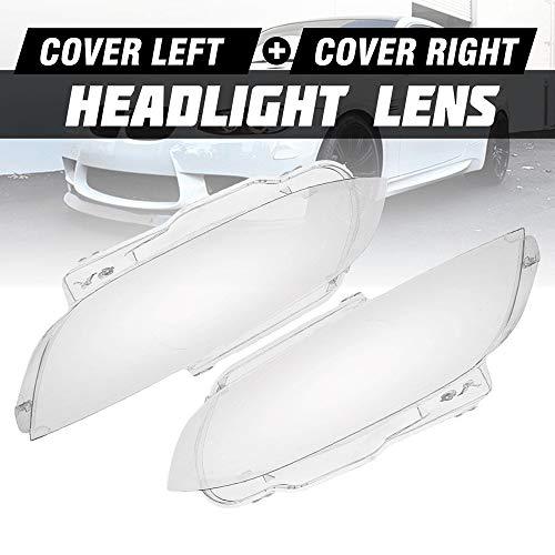 Scheinwerfer Glasabdeckung Objektivabdeckung Auto-Scheinwerfer-Objektiv Transparent Abdeckungs-Fall-Auto-Licht-Objektiv Scheinwerfer Lense Fit For BMW E92 E93 For Coupe Cabrio M3 2006-2010 1 / 2pc