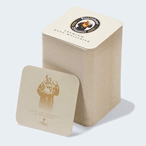 Zum Franziskaner Original Bierdeckel | 100 Stück | Bierglas | Untersetzer