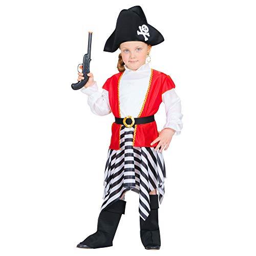 WIDMANN - Disfraz infantil de piratas, corsarios y bucaneros, multicolor, 98 cm/1 – 2 años, 48978