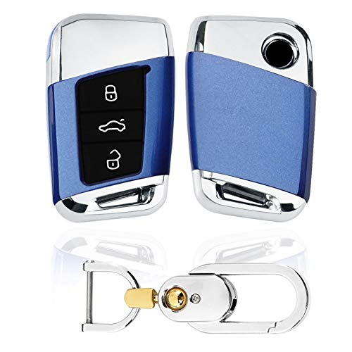 Kwak's Funda para llave de coche compatible con Volkswagen 19 MAGOTAN PASSAT...