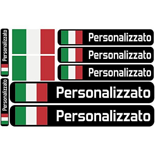 Haberdashery Online Bandiera Adesivi con Nome Personalizzato per...
