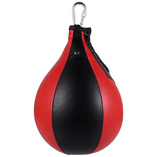 BESPORTBLE Boxsack Hängend Drehbar Punschball Leder MMA Tasche Muay Thai Training Punching Dodge Striking Bag für Reaktion Agilität Fitness-Sport