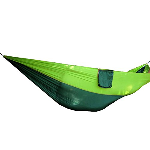 Black Temptation Double Gens Ultraléger Hamac Camping Voyage Hamac 140 * 260 CM-A550
