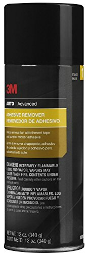 3M Adhesive Remover, Helps Remove Tar, Attachment Tape & Bumper Sticker Adhesive, 12 oz., 1 aerosol