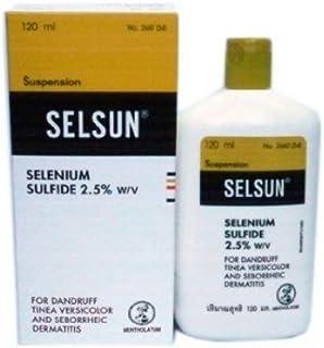 SELSUN anti-dandruff shampoo 120ml  セルサン シャンプー
