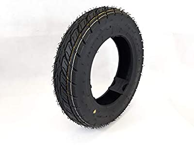 3.50-10 Black Mobility scooter tyre, (6PLY) TGA Breeze S3-S4