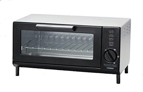 ツインバード トースター オーブントースター コンパクト 早焼き ロースタイル シルバー TS-4034S